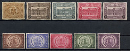 Belgium 1921-39 Lot Of Railway Stamps MH * Original Gum, Includes Two Complete Sets, Good Value, A Useful Lot - 1915-1921