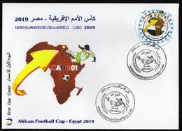 Algérie 2019 FDC 1842 Coupe D'Afrique Des Nations Egypte 2019 - Argelia (1962-...)
