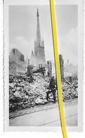 76 030 ROUEN QUARTIER CATHEDRALE DESTRUCTIONS SOLDAT ALLEMAND 1940 - Rouen