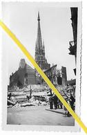 76 031 ROUEN QUARTIER CATHEDRALE DESTRUCTIONS SOLDAT ALLEMAND 1940 - Rouen