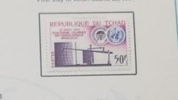 O) 1964 CHAD, METEOROLOGICAL, BAROGRAPH AND WMO, SCT 100 XF - Chad (1960-...)