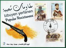 Algérie 2018 FDC 1812/1814 Résistances Populaires - Argelia (1962-...)