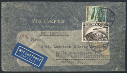 GERMANY: Airmail Cover Sent From Köln To Buenos Aires In MAR/1936 Franked With 4.75Mk. (including Sc.C37), VF Quality! - Cartas