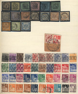 GERMANY: Stockbook With Good Amount Of Interesting Stamps, Including Several Classic Examples, General Quality Is Fine T - Sin Clasificación