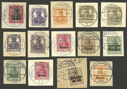 GERMANY: OCCUPATIONS AND POSSESSIONES: Interesting Lot Of Stamps (some Overprinted) Used In Countries Or Regions Occupie - Sin Clasificación