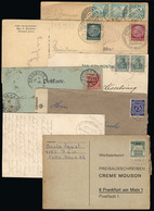GERMANY: 8 Cards, Covers, Etc., Some With Interesting Postmarks, Low Start! - Sin Clasificación