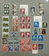 GERMANY: Collection In Album That Includes Many Good Values, Mint And Used, Fine General Quality (some Can Have Defects, - Sin Clasificación