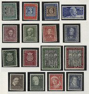 WEST GERMANY: Collection In Album, With Stamps Issued Between Circa 1949 And 1972, Period Fairly Complete, In The First  - Sin Clasificación