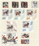 WEST GERMANY: Collection Of Used Stamps In Album (1974 To 1996), Excellent Quality, HIGH Catalog Value! IMPORTANT: Pleas - Sin Clasificación