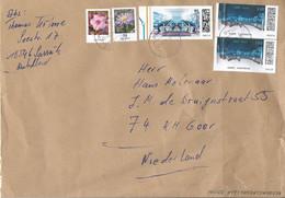 Duitsland BRD Brief Uit 2021 Met 5 Zegels (1387) - Cartas