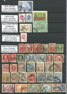 ARGENTINA: Stockbook Of 16 Pages With 899 Stamps, Pairs Or Larger Blocks With Cancels Of The Province Of Córdoba, Little - Colecciones & Series