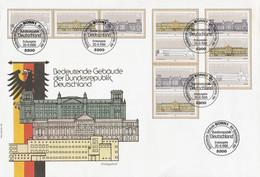 Duitsland BRD FDC Alle Combinaties Uit Block 20 (1388) - FDC: Sobres