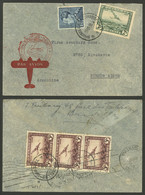 BELGIUM: 19/OC/1938 Bruxelles - Argentina, Airmail Cover Flown By German DLH Franked With 18.75Fr., With Buenos Aires Ar - Non Classés