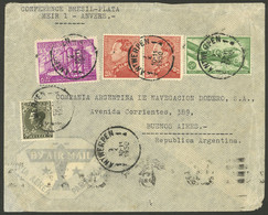 BELGIUM: 10/NO/1950 Antwerpen - Argentina, Airmail Cover With Nice Postage Of 97Fr., VF Quality! - Non Classés