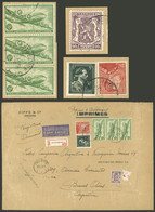 BELGIUM: PERFIN + LARGE POSTAGE: Registered Airmail Cover Sent From Anvers To Argentina On 26/OC/1960 (containing Commer - Non Classés