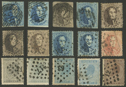 BELGIUM: Small Group Of Classic Stamps, Some With Small Faults, Others Of Very Fine Quality, Scott Catalog Value US$140. - Non Classés