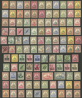 GERMAN COLONIES: Over 100 Used Or Mint (they Can Be Without Gum) Stamps, Some With Small Defects But Most Of Fine Qualit - Sin Clasificación