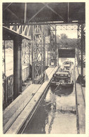 HOUDENG-GOEGNIES - Ascenseur Hydraulique N° 1 - Sortie D'un Bateau, Aval. - La Louvière