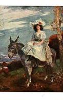 Lapina 1191 - F Humbert, La Promenade (âne) - Paintings