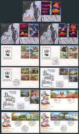 UNITED NATIONS: 1951 To 2002: Lot With Large Number Of First Day Covers, All Of Very Fine Quality And Very Thematic, Hig - Collections, Lots & Series