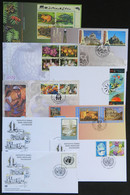 UNITED NATIONS: 9 Modern FDC Covers, Very Thematic, Excellent Quality! - Collections, Lots & Series