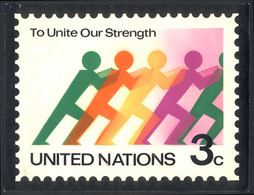 """UNITED NATIONS - NEW YORK: Unadopted Artist Design Of The Year 1976 For The """"To Unite Our Strength"""" Issue (Sc.267), Desi - Unclassified"""