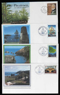 NORFOLK: 15 Illustrated Covers (postal Stationeries), Very Thematic, Excellent Quality! - Norfolk Island