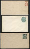 URUGUAY: 3 Old Unused Stationery Envelopes, Rare, VF Quality! - Uruguay