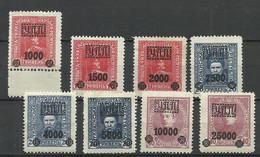 UKRAINE UKRAINA 1919 - 8 OPT - Stamps, */** - Ukraine