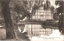 CPA 77 (Seine-et-Marne) Ocquerre Près Lizy-sur-Ourcq - Château De La Trousse, La Grande Pièce D'Eau TBE 1917 - Autres Communes