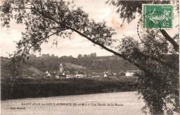 CPA 77 (Seine-et-Marne) Saint-Jean-les-Deux-Jumeaux - Les Bords De La Marne TBE 1916 éd. Bézard - Autres Communes