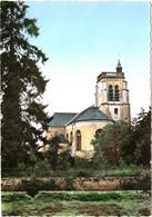 CPSM 77 (Seine-et-Marne) Crécy-en-Brie - L'église TBE Couleur - Autres Communes