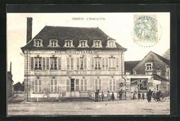CPA Chablis, L`Hotel De Ville, Facade - Chablis