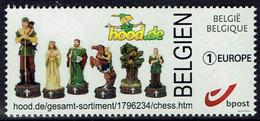 Belgie Belgium 2021 - Hood.de/Chess - Schaken Schach - OBP 4684 - Timbres Personnalisés