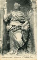 CPA  -  AIX-EN-PROVENCE - MONUMENT SEE - LA PROPHETESSE DEBORA - Aix En Provence