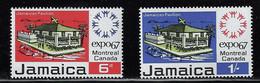 JAMAICA 1967 MONTREAL UNIVERSAL EXHIBITION - 1967 – Montreal (Canada)