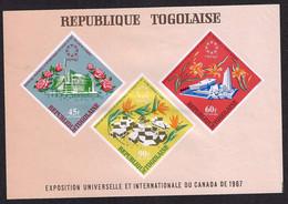 TOGO 1967 MONTREAL UNIVERSAL EXHIBITION - 1967 – Montreal (Canada)