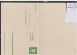 Berlin Michel Kat.Nr.  GA Ungebraucht  P47 - Postcards - Mint