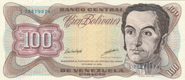 BANCONOTA VENEZUELA 100 VF (HB365 - Venezuela