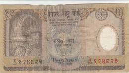 BANCONOTA NEPAL 10  F (HB372 - Nepal