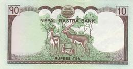 BANCONOTA NEPAL 10  VF (HB413 - Nepal