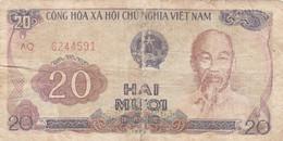 BANCONOTA VIETNAM 20 F (HB427 - Vietnam