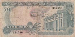 BANCONOTA VIETNAM 50 F (HB424 - Vietnam