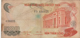 BANCONOTA VIETNAM 500  F (HB429 - Vietnam