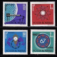 ROMANIA 1967 MONTREAL UNIVERSAL EXHIBITION - 1967 – Montreal (Canada)