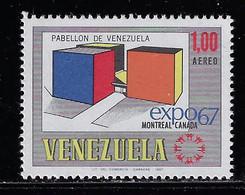 VENEZUELA 1967 MONTREAL UNIVERSAL EXHIBITION - 1967 – Montreal (Canada)