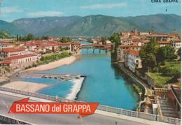BASSANO DEL GRAPPA - PANORAMA E PONTE DEGLI ALPINI - V1982 - Autres Villes