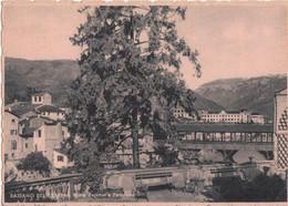 BASSANO DEL GRAPPA - SCORCIO PANORAMICO E PONTE VECCHIO, O DEGLI ALPINI - V1943 - Autres Villes