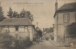 CPA - Notre-Dame-du-Hamel - Rue Du Calvaire - Other Municipalities