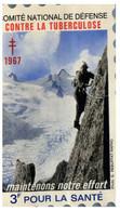 (PP 25) France - (stamp Shape / Cinderella) Comité National De Défence Contre La Tuberculose - 1967 - 3 Fr - Fantasy Labels
